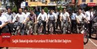Sağlık Bakanlığından Kurumlara 93 Adet Bisiklet Dağıtımı