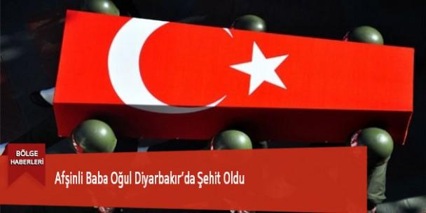 Afşinli Baba Oğul Diyarbakır'da Şehit Oldu