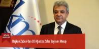 Başkan Zabun'dan 30 Ağustos Zafer Bayramı Mesajı