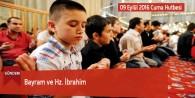 Bayram ve Hz. İbrahim