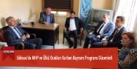 Göksun'da MHP ve Ülkü Ocakları Kurban Bayramı Programı Düzenledi
