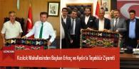 Kızılcık Mahallesinden Başkan Erkoç ve Aydın'a Teşekkür Ziyareti