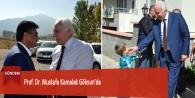 Prof. Dr. Mustafa Kamalak Göksun'da