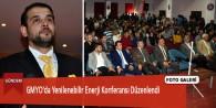 GMYO'da Yenilenebilir Enerji Konferansı Düzenlendi