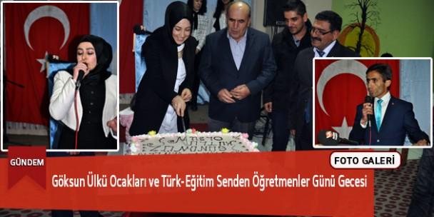 Göksun Ülkü Ocakları ve Türk-Eğitim Senden Öğretmenler Günü Gecesi