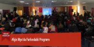 Afşin Myo'da Farkındalık Programı