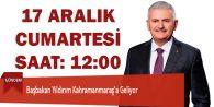Başbakan Binali Yıldırım Kahramanmaraş'a Geliyor
