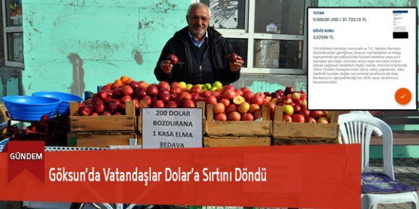Göksun'da Vatandaşlar Dolar'a Sırtını Döndü