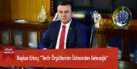 """Başkan Erkoç: """"Terör Örgütlerinin Üstesinden Geleceğiz"""""""