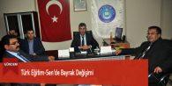 Türk Eğitim-Sen'de Bayrak Değişimi