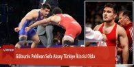 Göksunlu Pehlivan Sefa Aksoy Türkiye İkincisi Oldu