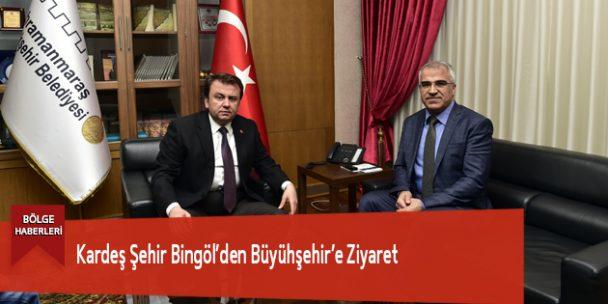 Kardeş Şehir Bingöl'den Büyühşehir'e Ziyaret