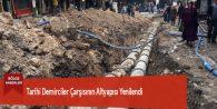 Tarihi Demirciler Çarşısının Altyapısı Yenilendi