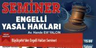 Büyükşehir'den Engelli Hakları Semineri