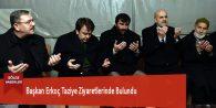Başkan Erkoç Taziye Ziyaretlerinde Bulundu