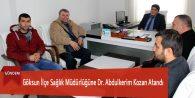 Göksun İlçe Sağlık Müdürlüğüne Dr. Abdulkerim Kozan Atandı