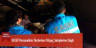 KASKİ Personelinin Yardımları İhtiyaç Sahiplerine Ulaştı