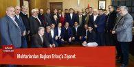 Muhtarlardan Başkan Erkoç'a Ziyaret