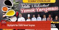 Büyükşehir'den Ödüllü Yemek Yarışması