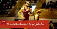 Göksunlu Pehlivan Musa Gürbüz Türkiye Üçüncüsü Oldu