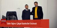 Selim Yağmur Çalışan Gazetecileri Unutmadı