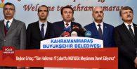 """Başkan Erkoç: """"Tüm Halkımızı 17 Şubat'ta Müftülük Meydanına Davet Ediyoruz"""""""