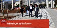 Başkan Erkoç'tan Ağcalı'da İnceleme