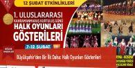 Büyükşehir'den Bir İlk Daha: Halk Oyunları Gösterileri