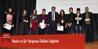 Resim ve Şiir Yarışması Ödülleri Dağıtıldı