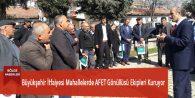 Büyükşehir İtfaiyesi Mahallelerde AFET Gönüllüsü Ekipleri Kuruyor