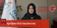 Afşinli Öğrenci YGS'de Türkiye İkincisi oldu!
