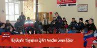 Büyükşehir İtfaiyesi'nin Eğitim Kampları Devam Ediyor