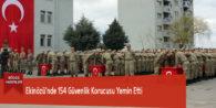 Ekinözü'nde 154 Güvenlik Korucusu Yemin Etti
