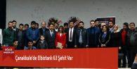 Çanakkale'de Elbistanlı 63 Şehit Var