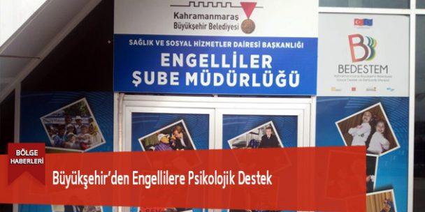 Büyükşehir'den Engellilere Psikolojik Destek