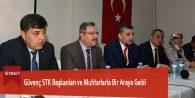 Güvenç STK Başkanları ve Muhtarlarla Bir Araya Geldi