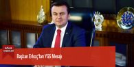 Başkan Erkoç'tan YGS Mesajı