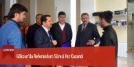 Göksun'da Referandum Süreci Hız Kazandı