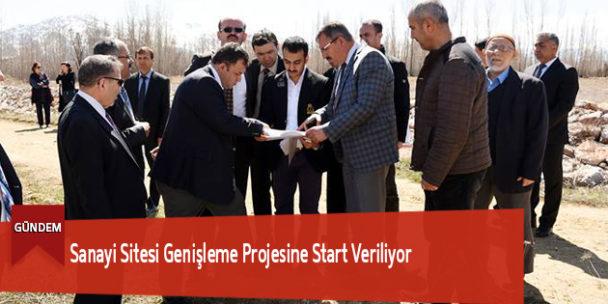 Sanayi Sitesi Genişleme Projesine Start Veriliyor
