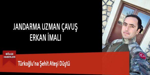 Türkoğlu'na Şehit Ateşi Düştü