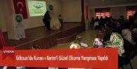 Göksun'da Kuran-ı Kerim'i Güzel Okuma Yarışması Yapıldı
