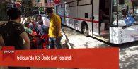 Göksun'da 108 Ünite Kan Toplandı