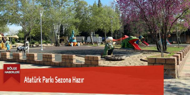 Atatürk Parkı Sezona Hazır