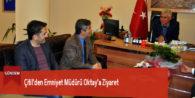 Çitil'den Emniyet Müdürü Oktay'a Ziyaret