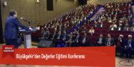 Büyükşehir'den Değerler Eğitimi Konferansı