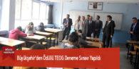 Büyükşehir'den Ödüllü TEOG Deneme Sınavı Yapıldı