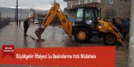 Büyükşehir İtfaiyesi Su Baskınlarına Hızlı Müdahale