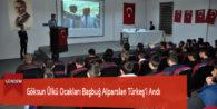 Göksun Ülkü Ocakları Başbuğ Alparslan Türkeş'i Andı