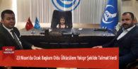 23 Nisan'da Ocak Başkanı Oldu Ülkücülere Yakışır Şekilde Talimat Verdi
