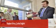 Başkan Erkoç Çorba Dağıttı